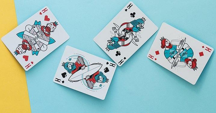 Surfboard Playing Cards