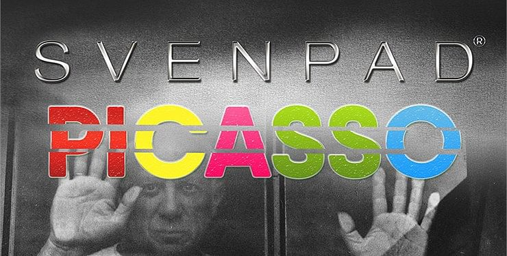 SvenPad® Picasso: Large Tri-Section (Large Format) - magic