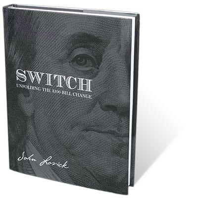 SWITCH - Unfolding The $100 Bill Change - magic