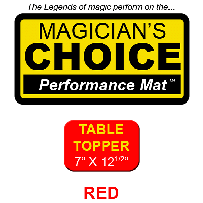 Table Topper Close-Up Mat (7 inch x 12.5 inch) - magic