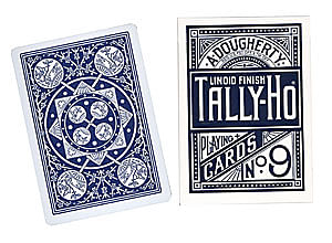 Tally-Ho Fan Back Playing Cards - magic