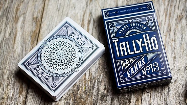 Tally-Ho Pearl  Playing Cards