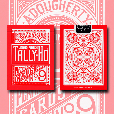 Tally Ho Reverse Fan Back Limited Edition - magic