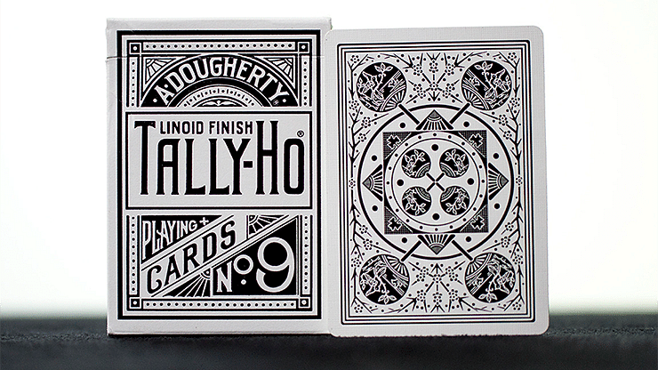 Tally-Ho White Playing Cards (Fan Back - First Edition) - magic