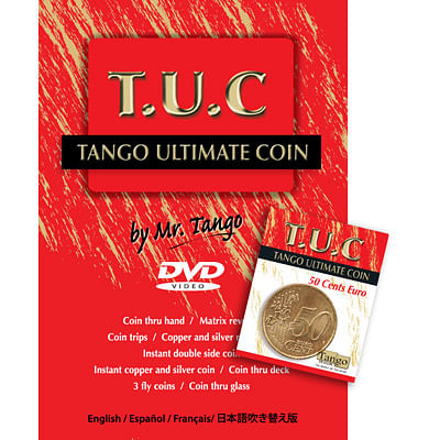 Tango Ultimate Coin - 50 Euro Cents - magic