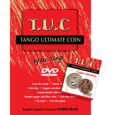 Tango Ultimate Coin - Copper and Silver - magic