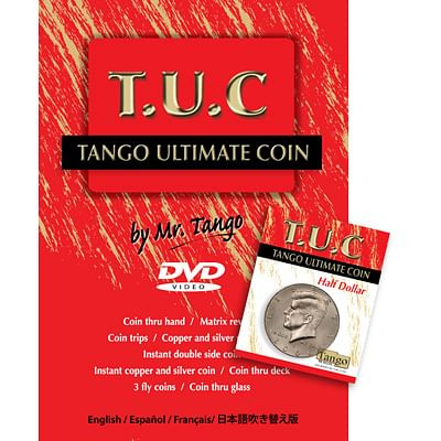 Tango Ultimate Coin - Half Dollar - magic