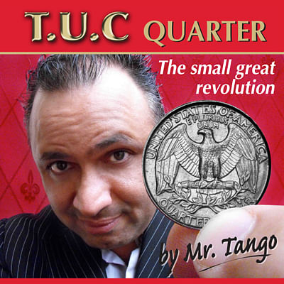 Tango Ultimate Coin - Quarter Dollar - magic