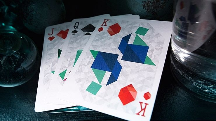 Tangram Playing Cards