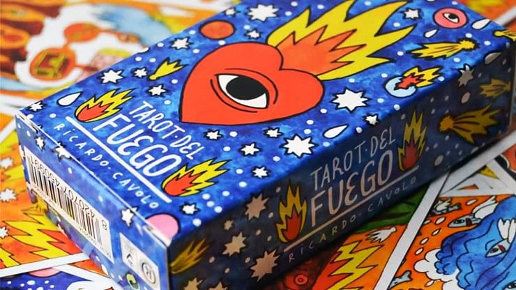 Tarot del Fuego Tarot Cards