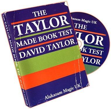 Taylor Made Book Test - magic