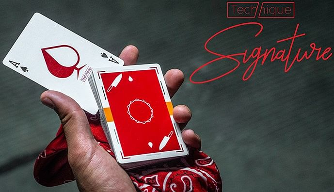 Technique Playing Cards Signature Edition - magic