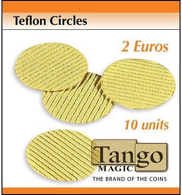Teflon Circle 2 Euro size - magic