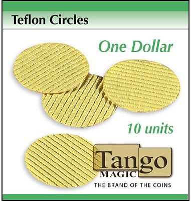 Teflon circles Dollar size - magic