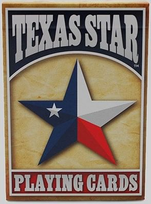 Texas Star Playing Cards - magic