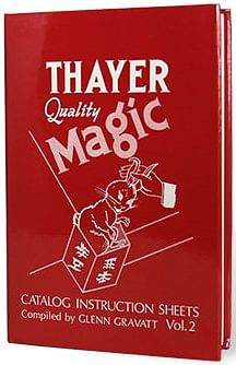 Thayer Quality Magic Volume 2 - magic