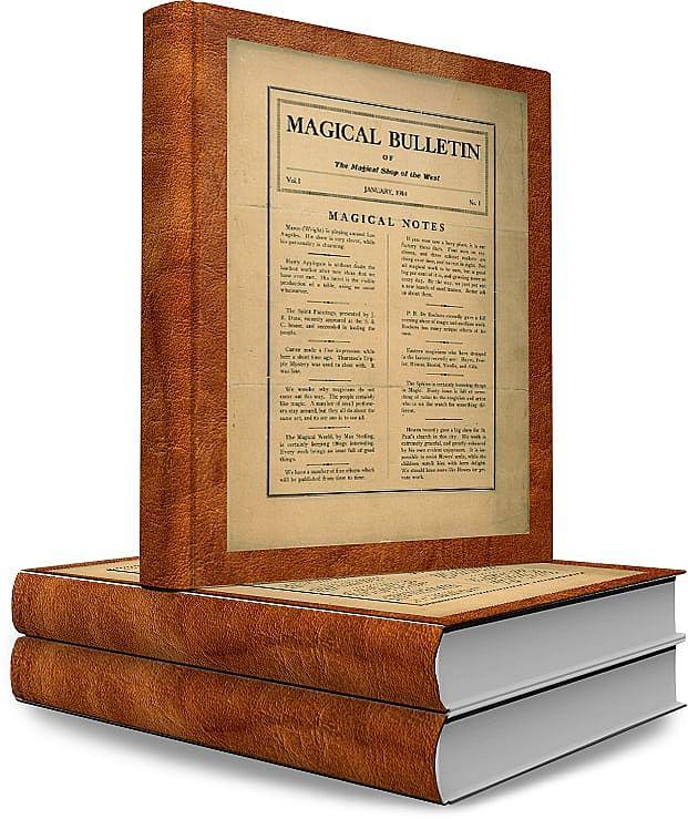 Thayer's Magical Bulletin - magic