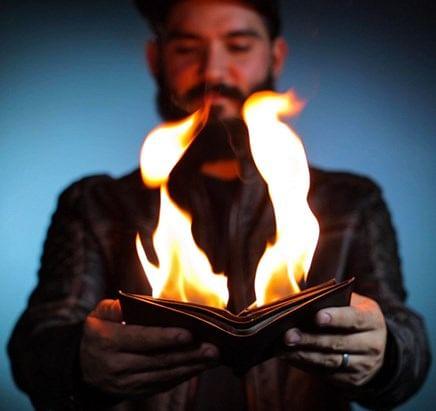 The Aficionado Fire Wallet