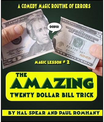 The Amazing Twenty Dollar Bill Trick - magic