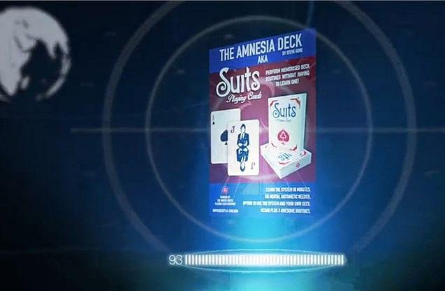 The Amnesia Deck AKA Suits Deck - magic