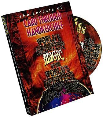 World's Greatest Magic - The Card Through Handkerchief - magic