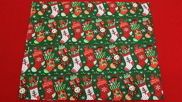 The Christmas Devil's Double Pocket Hanky - magic