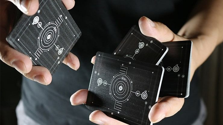 The Circle Crop Playing Cards