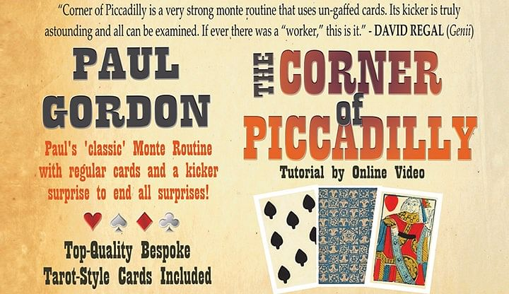 The Corner of Piccadilly - magic