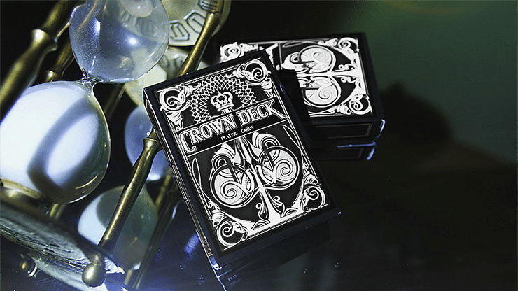The Crown Deck (Black) - magic