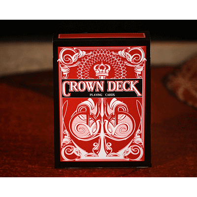The Crown Deck - Red - magic