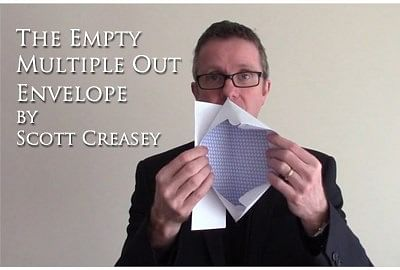 The Empty Multiple Out Envelope - magic