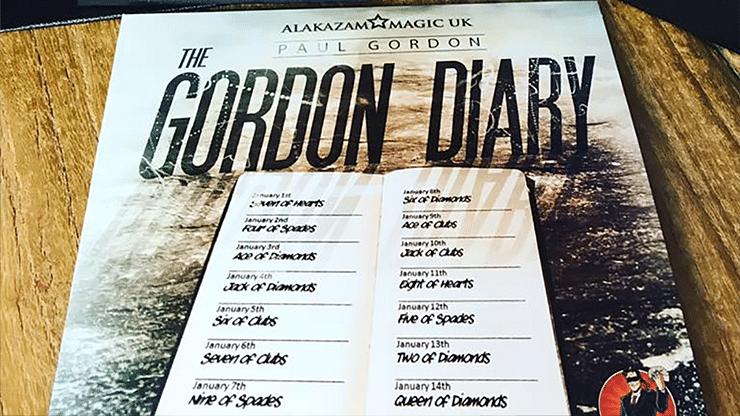 The Gordon Diary Trick Lite - magic
