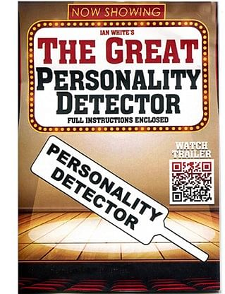 The Great Personality Detector Paddle - magic