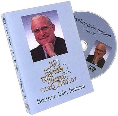 The Greater Magic Video Library Volume 38 - Brother John Hamman - magic