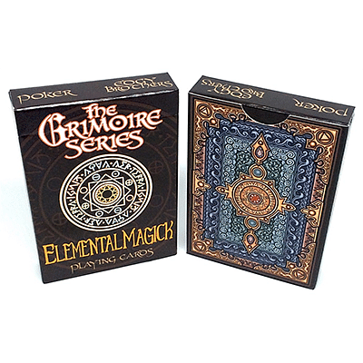The Grimoire Series (Elemental Magick) Playing Cards - magic