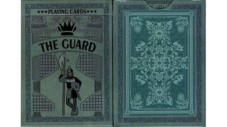 The Guard Slate Playing Cards - magic