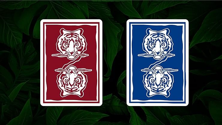 The Hidden King Blue Luxury Edition Playing Cards