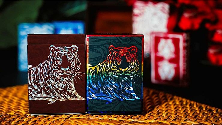 The Hidden King Rainbow Luxury Edition Playing Cards