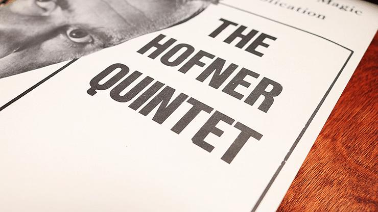 The Hofner Quintet - magic