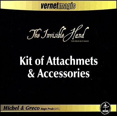 The Invisible Hand Kit of Attachments & Accessories - magic