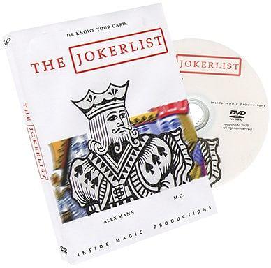 The Jokerlist - magic