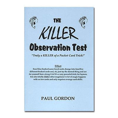 The Killer Observation Test - magic