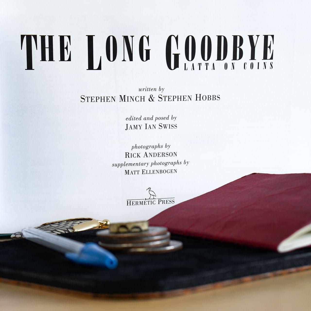 Geoff Latta: The Long Goodbye (Book + DVD) - magic