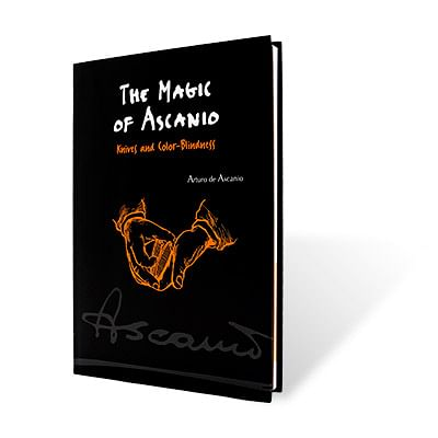 Magic of Ascanio Book - Knives and Color Blindness - magic