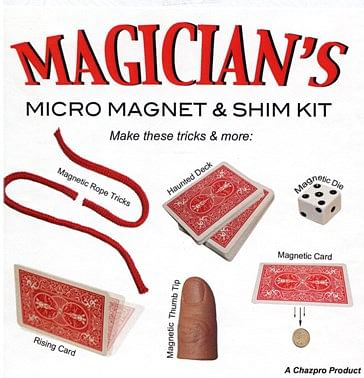 The Magicians Micro Magnet kit - magic