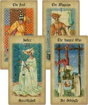The Medieval Tarot - magic