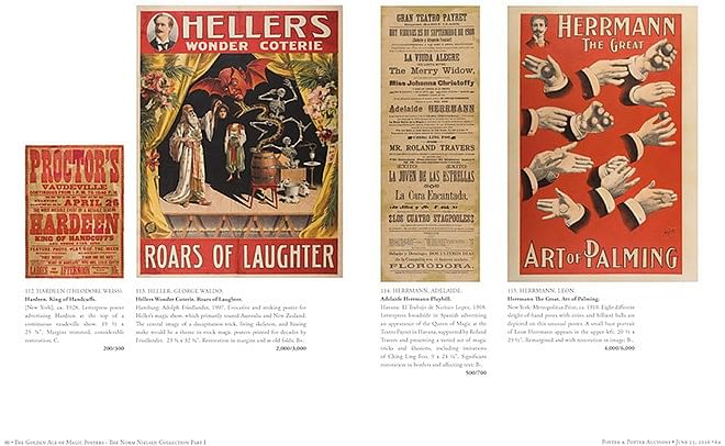 The Golden Age of Magic Posters: The Nielsen Collection - Part 1