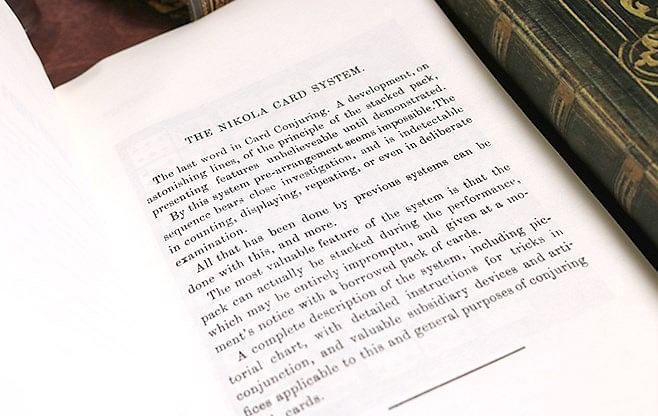 The Nikola Card System
