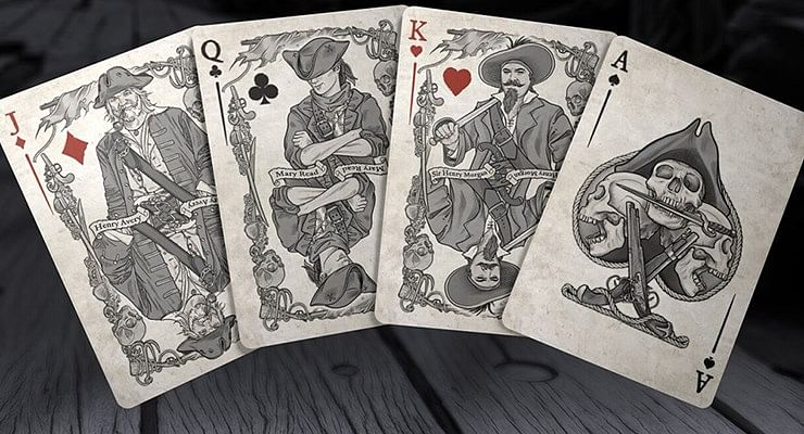 The Pirate Deck Playing Cards