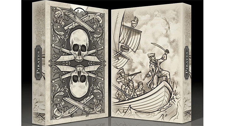 The Pirate Deck Playing Cards - magic